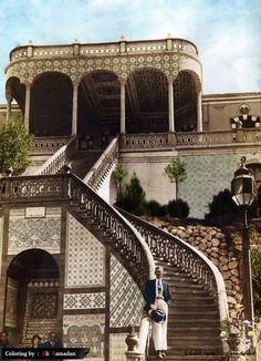 قصر الأمير المجاهد عبد القادر الجزائري في منطقة دمر غرب دمشق عام 1932