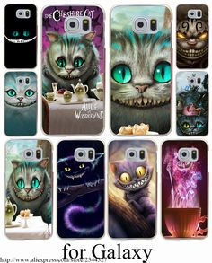 Cheap for samsung galaxy, Buy Quality alice in directly from China alice in wonderland Suppliers: Cheshire Cat alice in wonderland Hard Transparent Case Cover for Samsung Galaxy Mini Edge Plus Case S8 Edge Plus, Cheshire Cat Alice In Wonderland, Samsung Galaxy S3, Galaxy 9, S5 Mini, Note 5, Phone Covers, Diy And Crafts, Cats