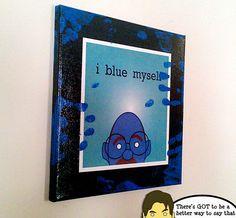I Blue Myself art