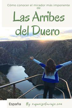 El Parque Natural de las Arribes del Duero en Salamanca tiene algunos de los miradores más impresionantes de todas las Arribes. ¿Cómo recorrerlo? ¿Dónde alojarte? Ruta de miradores y y mucha más info útil si vas a a viajar por tu cuenta y quieres conocer este alucinante rincón. #viajar #viajes #viajarporlibre #tipsviaje #Europa #España #Salamanca #Arribes #Duero