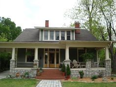 Built in 1924. Classical revival bungalow.