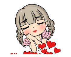 Cute Love Pictures, Cute Cartoon Pictures, Cute Love Gif, Cute Love Cartoons, Cute Images, Animated Emoticons, Cute Good Night, Animated Love Images, Cute Disney Drawings
