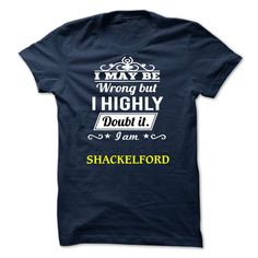 awesome SHACKELFORD - I may be Team Today !!!