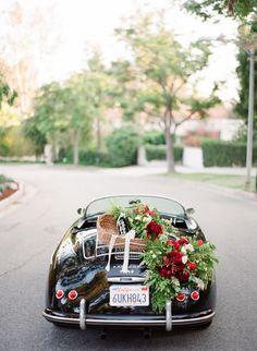 Photography: Koman Photography, Floral Design: Indigo And Plum, Car Rental: Black & White Car Rental, Coordination: Frankly Weddings, Venue: Greystone Mansion