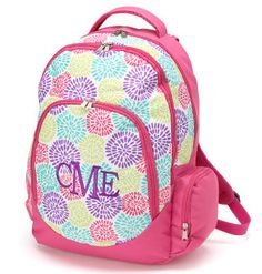 fc8d4e6962 Personalized Girls Bloom Backpack Bookbag -  29.95 Back To School