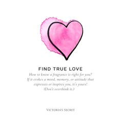 We'll help you discover the one that's right for you. Head to our Fragrance Finder: https://www.victoriassecret.com/beauty/find-your-fragrance