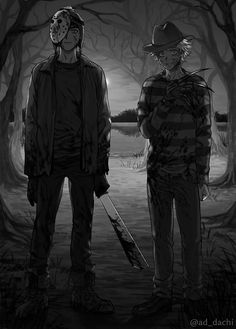 Credits to its author Horror Movie Characters, Fictional Characters, Terror Movies, Tweek And Craig, Tweek South Park, Creepypasta Cute, South Park Anime, Freddy Krueger, Mystic Messenger