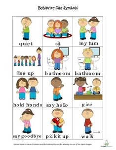 Free Autism pecs, This example page was made in Microsoft Word ...