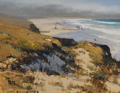 Morning Dunes by Brian Blood Oil ~ 11 x 14