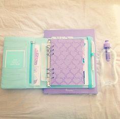 Chic & Sweet Kikki K Mint Personal Size Planner. LOVE.❤