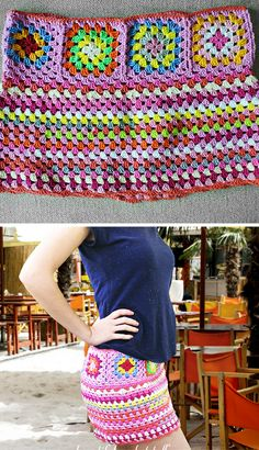 Granny Crochet: Crochet Skirt Free Pattern