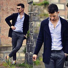 Italior Shirt, Dondup Pants, Swear London Shoes