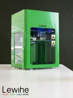 Lewihe impresora 3D, de España