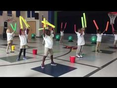 This activity incorporates music into a PE lesson. This can be beneficial for students who enjoy the arts and those who may not be excited about PE. This activity is suitable for younger grades, and it teaches rhythm and strengthens cardio endurance. Elementary Physical Education, Elementary Pe, Health And Physical Education, Music Education, Pe Lessons, Music Lessons, Pe Activities, Physical Activities, Music Activities For Kids