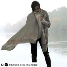 Thanks to @boutique_elise_mulhouse  Jamais sans mon etole #richiamiscarves @richiami soie cashmere... #shooting #shootingphoto #eliseboutiquemulhouse PULL @manilagraceofficial bottes stretch @strategiashoes #fashionshoot #fashiondaily #fashiongram #fashionable #fashiontrends #fashionph #fashionist #fashionkilla #fashiondaily #scarves #madeinitaly #scarvesfordays #scarvesfever #instacool