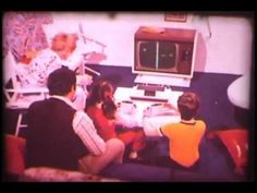 It's 1972. How The Hell Do You Explain What A Video Game Is?  One of the first video game consoles.. Started with 3 lights and scenes you put over the screen!