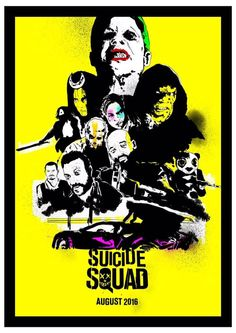 Suicide Squad by Glen Stone