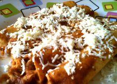 Enchiladas veracruzanas
