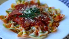Pepperoni Pasta (What? Yes.)