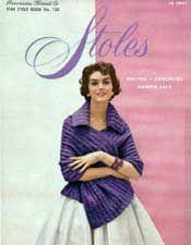 Stoles, Star Book 133 | Crochet Patterns