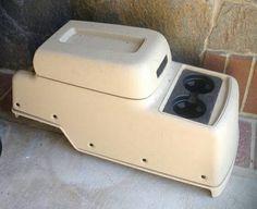 SOLD!!  GM 22790670 Beige Tan 2nd Row Floor Console fits 2010-2014 Tahoe Yukon Escalade #GM