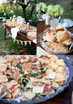 Small sandwiches are the perfect food for a Garden Party. Let us know your favor… Small sandwiches are the perfect food for a Garden Party. Let us know your favorite types of sandwiches for such events by tagging us in your pins! Tee Sandwiches, Types Of Sandwiches, Tapas, Snacks Für Party, Appetizers For Party, Party Desserts, Parties Food, Tea Parties, Picnic Snacks