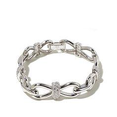 Victoria Wieck 2.05ct Absolute™ Pavé Link Bracelet