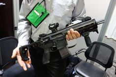 SIG_SAUER_MCX_Mission_Configurable_Weapon_System_Dual_Gas_Piston_Op-Rod_AR-15_Carbine_SBR_Short_Barreled_Rifle_SOFIC_2013_David_Crane_Defens...