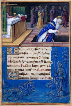 The Morgan Library  Museum Online Exhibitions - Hours of Henry VIII - St. John the Evangelist