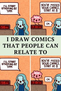 Hey, everyone! I'm Relatable Doodles! (wow what a creative name *rolls eyes*) I like to draw comics that are... relatable (hence the name).