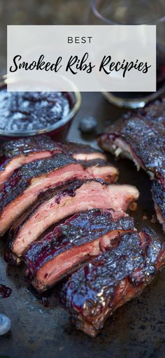 Best Smoked Ribs Recipes Check out the best smoked ribs recipes!You can find Smoked ribs and more on our website. Pork Rib Recipes, Smoked Meat Recipes, Barbecue Recipes, Grilling Recipes, Bbq, Smoker Recipes, Ham Recipes, Best Smoked Ribs, Smoked Pork Ribs