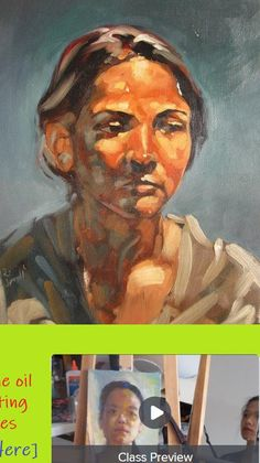 A list of upcoming and ongoing Skillshare classes. Portrait Sketches, Drawing Sketches, Drawings, Oil Portrait, Oil On Canvas, Portraits, Paper, Painting, Life