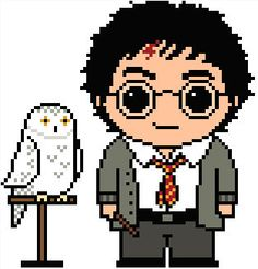 Harry Potter: Harry Potter and Hedwig Chart Pattern
