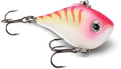 The All new Rapala Ultra Light Rippin Rap. A lipless crank bait with a loud fish calling rattle.