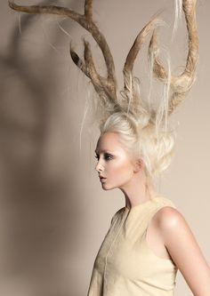 Avant garde hair by Hannah Escano Suki.
