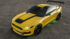 Ford builds a wild P-51-inspired Mustang for charity - Autoblog