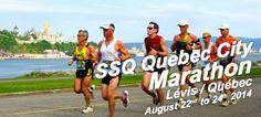 SSQ Quebec City Marathon – Lévis / Québec   Circuit Courir à Québec