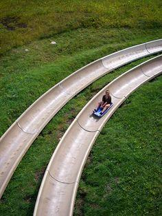 alpine slide - park city, utah