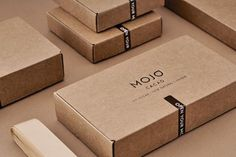 MOJO Cacao on Packaging of the World – Galerie für kreatives Verpackungsdesign by mileledesign Packaging Carton, Brownie Packaging, Dessert Packaging, Bakery Packaging, Cardboard Packaging, Chocolate Packaging, Food Packaging Design, Soap Packaging, Packaging Design Inspiration