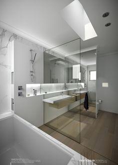 Joc de miralls i ninxols OK ------------------------------------------------------------------Minosa Design: CAD making life easy? Bathroom Wall Decor, Bathroom Furniture, Bathroom Interior, Modern Bathroom, Small Bathroom, Bathroom Ideas, Cheap Bathroom Remodel, Shower Remodel, Interior Design Toilet