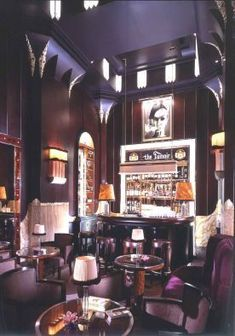 Fumoir Bar at Claridge's, London -- Had a couple of very nice cocktails here (it is now nonfumeur of course)