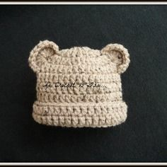 Bonnet bebe ourson  au crochet  photos bebe