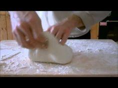 Pizza in teglia lievitazione 72 h. Pino Arletto - YouTube