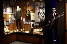 Part of Roy Orbison exhibit at the Musicians Hall of Fame and Museum – 401 Gay Street, Nashville, TN  37201