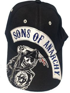 Gorra Sons of Anarchy. SOA Blue
