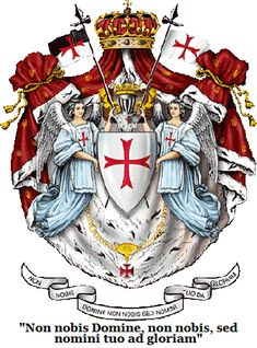 Ordre Souverain et Militaire du Temple de Jérusalem. In English, that's translated as The Sovereign Military Order of the Temple of Jerusalem Knights Hospitaller, Knights Templar, Rose Croix, Friedrich Ii, Crusader Knight, Christian Warrior, Medieval Knight, Freemasonry, Chivalry