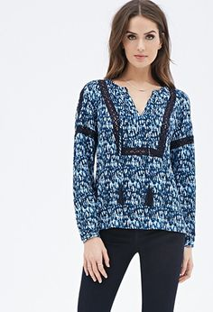 Womens Peasant Style Top | Forever21.com