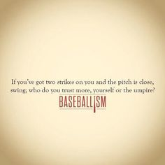 You may think baseball is a simple game because it doesn't look too fast paced. The reality is, there is a lot that goes into a game of baseball. No Crying In Baseball, Baseball Party, Baseball Season, Sports Baseball, Baseball Stuff, Rays Baseball, Baseball Live, Baseball Equipment, Baseball Cap