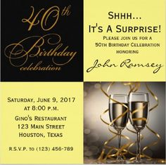 40th Birthday Invitations Free Parties Party Invitation Wording Fifty