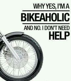 OMG... I feel this already and I don't even have a bike nor a licence to ride one Hahahaaa.. But I need to get both!